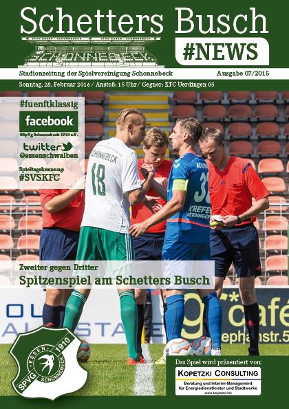 SpVg Schonnebeck - KFC Uerdingen 05