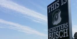Platzkommission sperrt den Schetters Busch