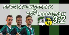 3:2 gegen Meerbusch – Schonnebeck siegt am Ende mit offenem Visier