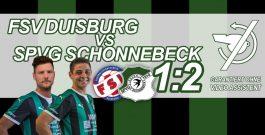 2:1 bei Aufsteiger Duisburg – Schwalben finden spät zu alter Stärke