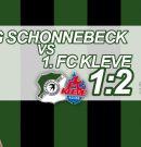 1:2-Heimniederlage gegen Aufsteiger Kleve – Sehenswerter Bosnjak-Treffer war zu wenig
