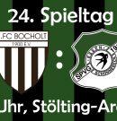 Oberliga: Auswärtsspiel beim 1. FC Bocholt am Sonntag